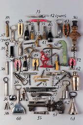 Six pocket corkscrews: