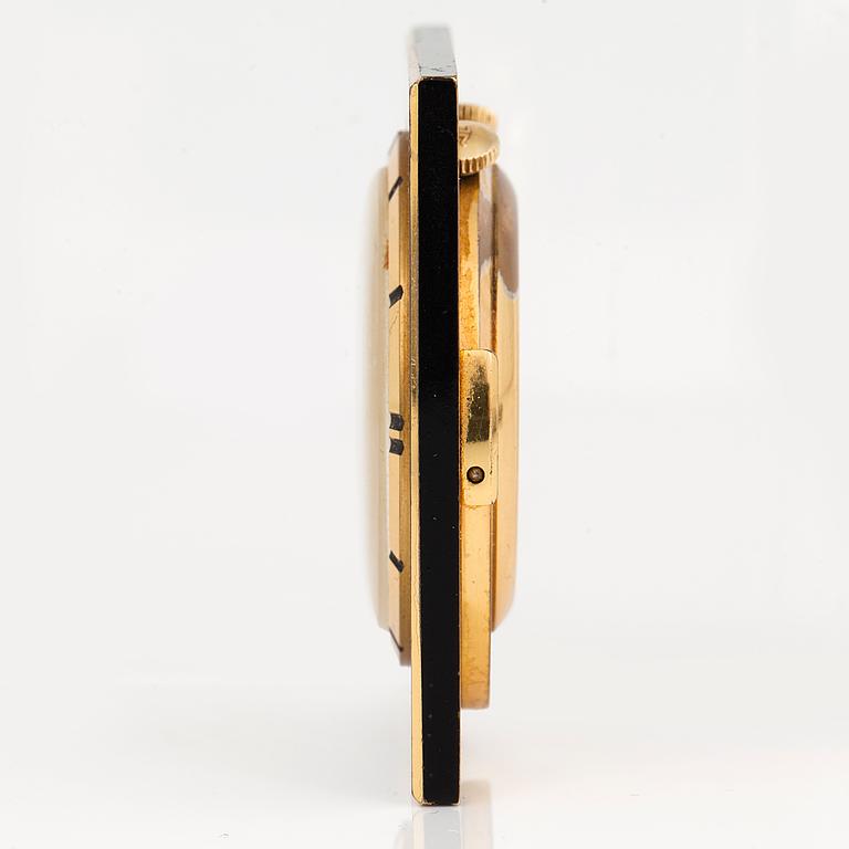 JAEGER-LE COULTRE. Memovox, 45 x 45 mm;
