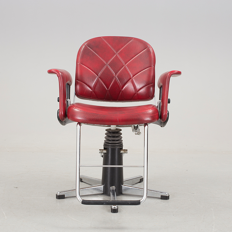 Barber chair. 1900s the second half.