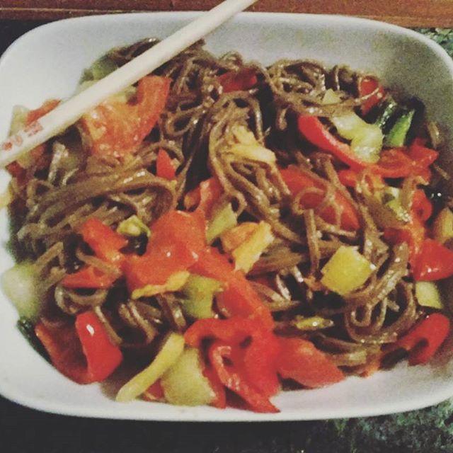 Soba Noodle Stirfry