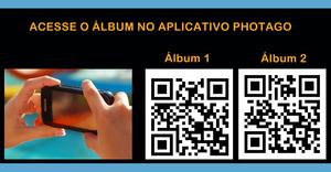 Tire as fotos acesse o album e compartilhe