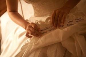 Barra vestido noiva