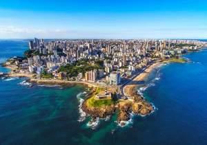 Salvador city scape