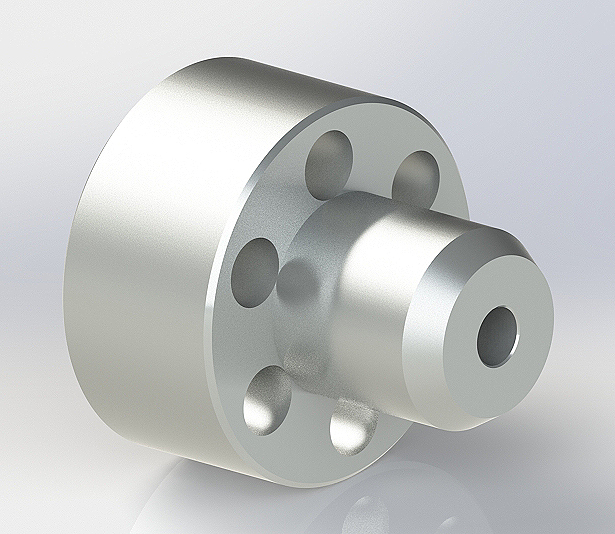 Part elastic coupling