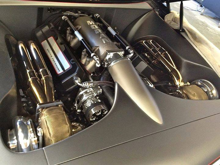 2000 plus horsepower from A twin turbo Mike Moran engine