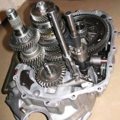 Manual synchronized gearbox