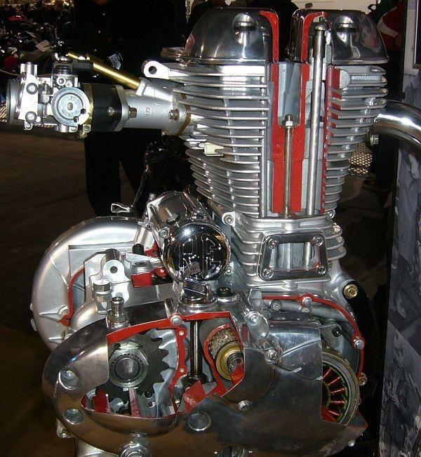 Royal Enfield Engine Cutawayjpg Members Gallery Mechanical