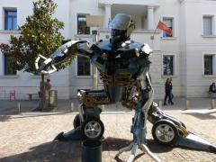 Transformer made from car parts.jpg