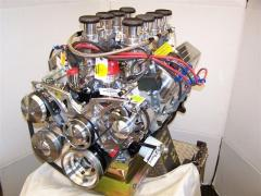 Ford Engine With Stack Fuel Injector.JPG