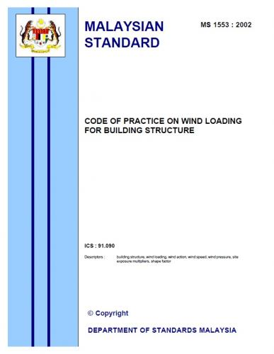 Code Of Practice On Wind Loading For Building Structure
