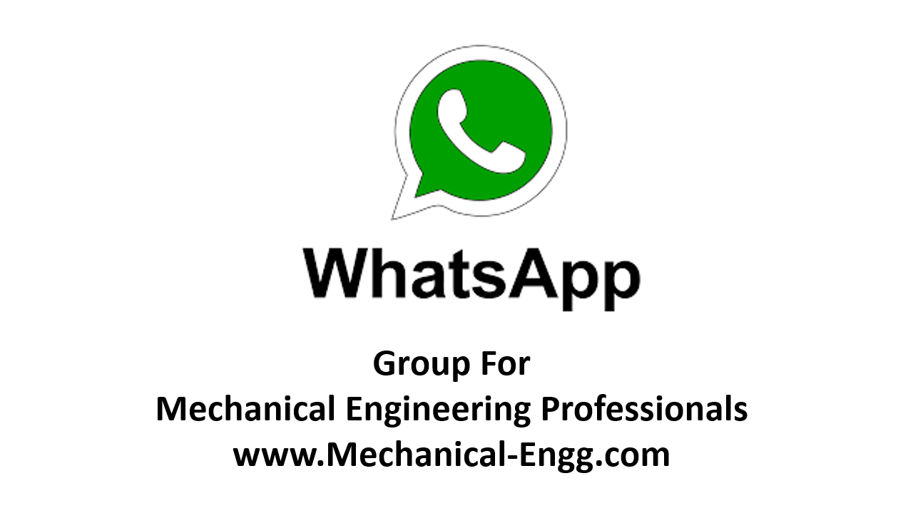Whatsapp Group for Mechanical Engineers - Mechanical Engineering