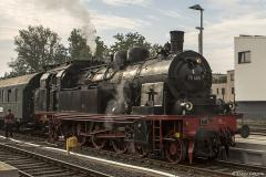 Classic Steam Engine Locomotive