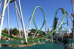 The Incredible Hulk Coaster at Marvel Super Hero Island