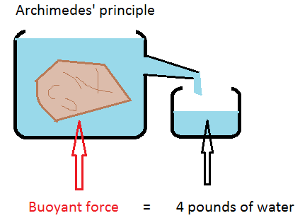 State Archimedes principle.