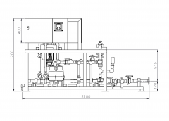 3D CAD Drawing of Processing Plant