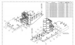 Mechanical 2D Drafting for Water Treatment Plant