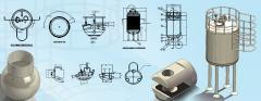 CAD Modeling and Drafting for Pressure Vessel Accessories
