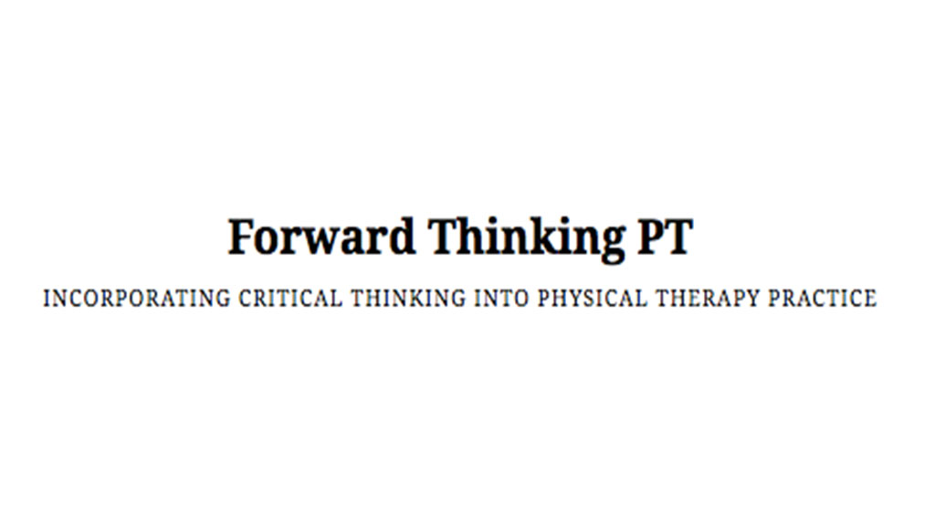 Forward Thinking PT