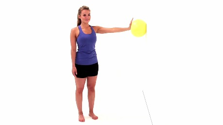 Image result for shoulder flexion exercises wall ball ROM circles