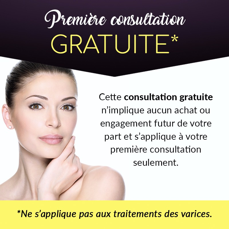 premiere consultation gratuite. Cette consultation gratuite n'implique aucun achat ou engagement futur de votre part et s'applique à votre première consultation seulement.
