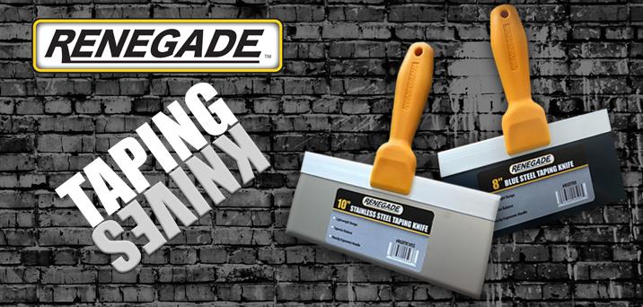 Renegade Taping Knives