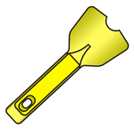 "Trim-Tex Trim-Tex 3/4"" Bullnose Cleaning Tool [10]"