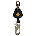 Guardian Fall Protection Self Retracting Lifeline 6 ft Single Blow Blocker