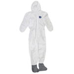 Trimaco, LLC Tyvek Painters Coveralls w/ Hood & Boot (XL)