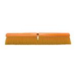 """Magnolia Brush Manufactures Magnolia Floor Brush 24"""" Yellow Plastic w/M60 Handle"""