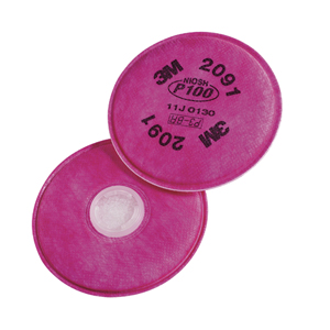 3M Tekk Protection  P100 Particulate Filters