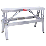 Walboard Tool Company, Inc. Adjustable Aluminum Bench 18 in - 30 in