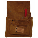 Heritage Leather Company Heritage Suede Nail Bag - 3 Pocket
