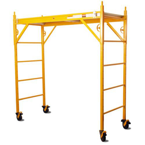 Nu Wave Scaffolding : Nu wave classic scaffold w quot pc b s casters at tsw