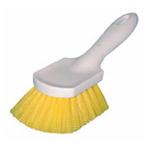 """Magnolia Brush Manufactures Magnolia Short Handle Brush - Yellow Plastic- 8-1/2"""""""