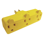U.S. Wire & Cable Triple Outlet POW-R-BLOCK Adapter
