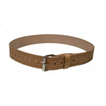 "Heritage Leather Company Heritage 2"" Wide Leather Belt with Roller Buckle"