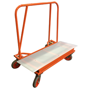 Big Brute Drywall Cart with Plastic Deck