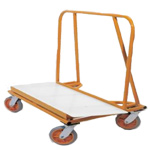 ADAPA, Inc. Big Brute Drywall Cart with Plastic Deck