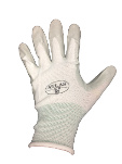 Atlas Gloves Atlas White Light Weight Nitrile Palm - Medium
