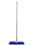 "Bruske Products Push Broom - Fine Blue Flagged Bristle 23"""