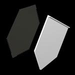 Pla-Cor, Inc. Pla-Cor White Plastic Gate For Hopper Set