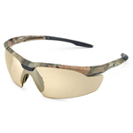 Gateway Safety, Inc. Conqueror Safety Glasses - Bronze Mirror/Camo
