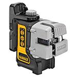 DeWalt Power Tools Self Leveling 3 Beam Line Laser