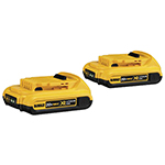 DeWalt Power Tools 20V MAX* Compact XR Lithium Ion Battery Pack