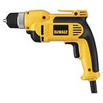 """DeWalt Power Tools 3/8"""" (10mm) VSR Pistol Grip Drill Kit with Keyless Chuck"""