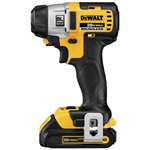 "DeWalt Power Tools 20V Max Lithium Ion Brushless 3-Speed 1/4"" Impact Driver"