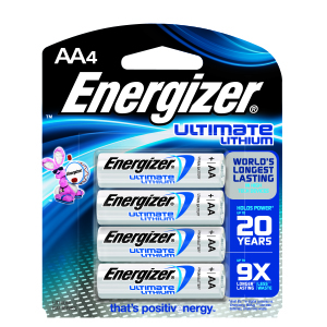 Energizer® Ultimate Lithium AA Batteries (4)