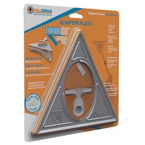 TRIGON 180 Adapter Plate (No Center Hub)