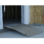 Fabmaster Threshold Ramp with Center Rise and Side Rails
