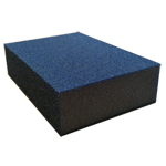 "Blue Sponges 2-3/4"" X 3-3/4"" X 1"" Fine/Medium Sponge"